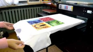 Печать на одежде на заказ