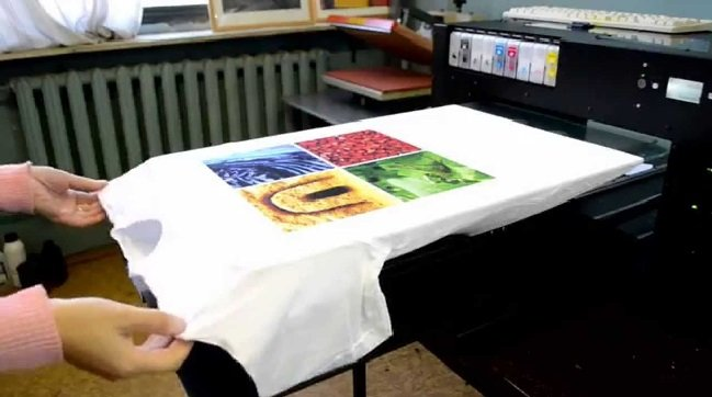 Печать на одежде на заказ: описание, технология, услуга