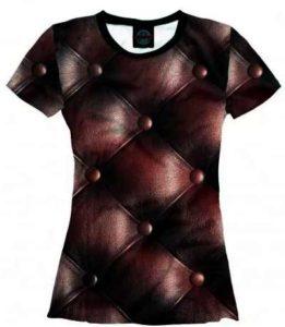 имитирующий эффект на футболке