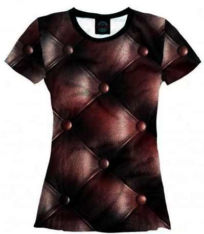 пошив одежды с имитирующий эффект на футболке