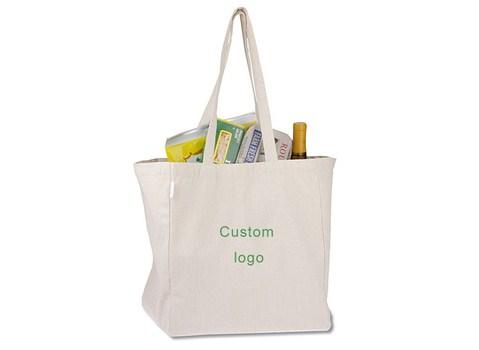 холщовая сумка с принтом