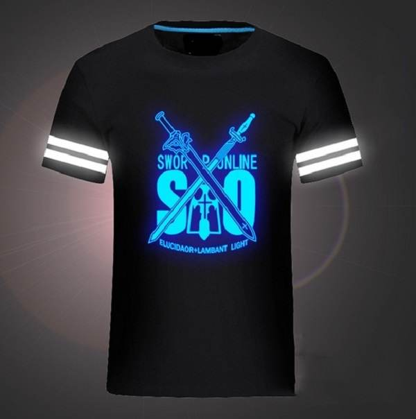Светящаяся футболка