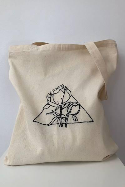 печать на холщовых сумках