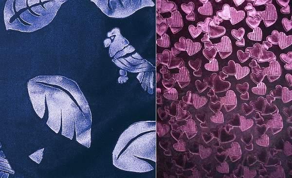 Тиснение по ткани – модная технология декорирования