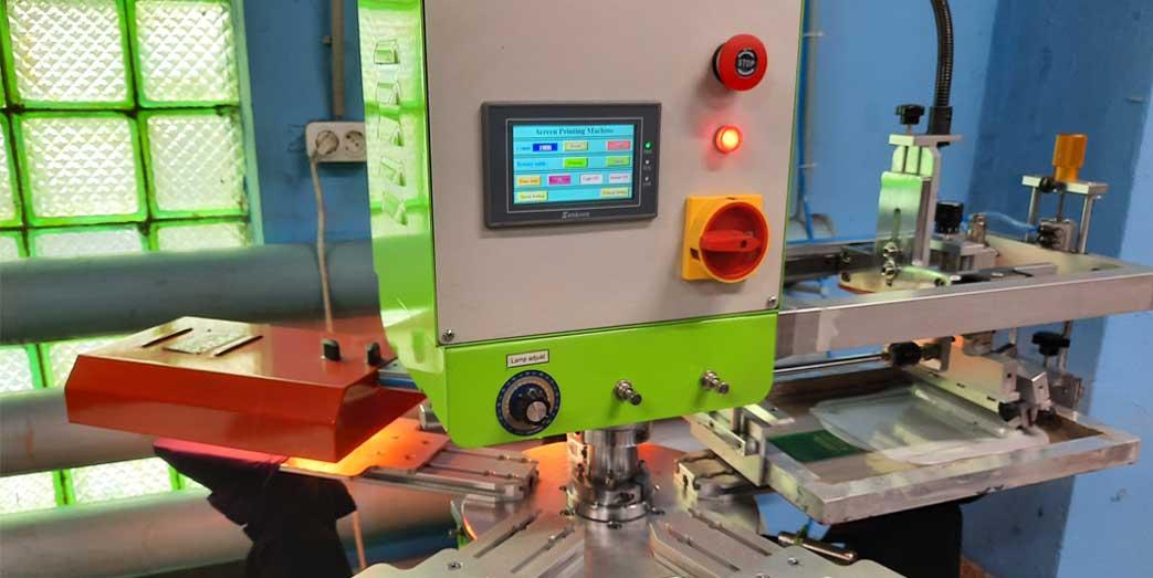 Установка оборудования для печати лейблов на одежде